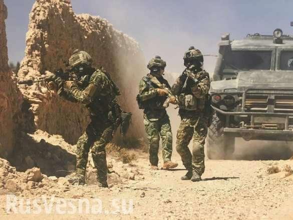 Русские и сирийские военные заманили в засаду и уничтожили бронегруппу ИГИЛ | Русская весна