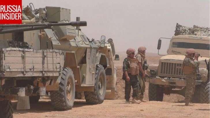 Русские и сирийские военные заманили в засаду и уничтожили бронегруппу ИГИЛ