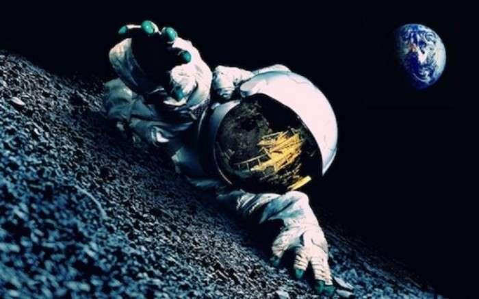 Камера МКС зафиксировала человека без скафандра в открытом космосе