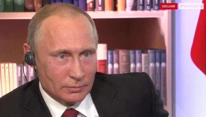 Владимир Путин раскрыл цель западной кампании вокруг предполагаемой химической атаки в Сирии
