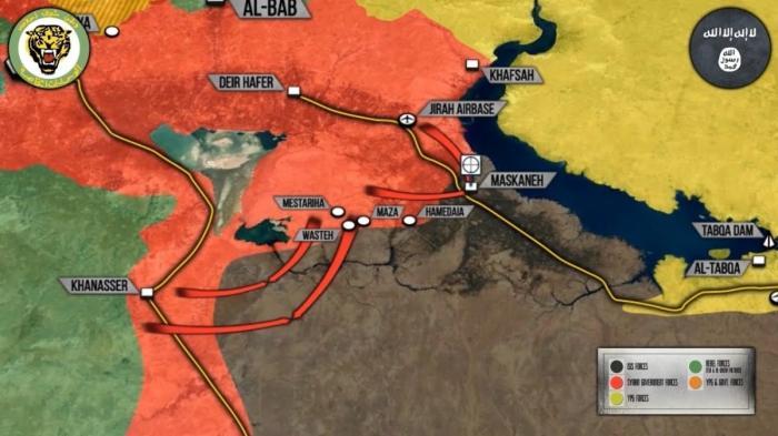 Сирия: оперативная обстановка на фронтах, ожидается химическая провокация