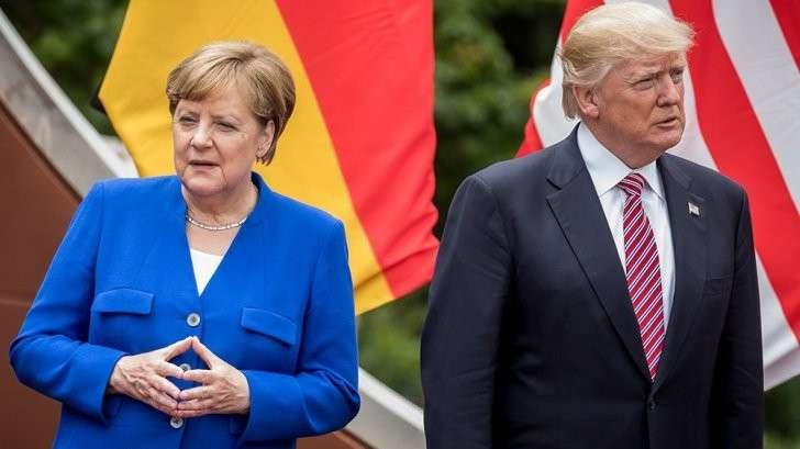 Почему Трамп пошёл на замороску отношений с Германией