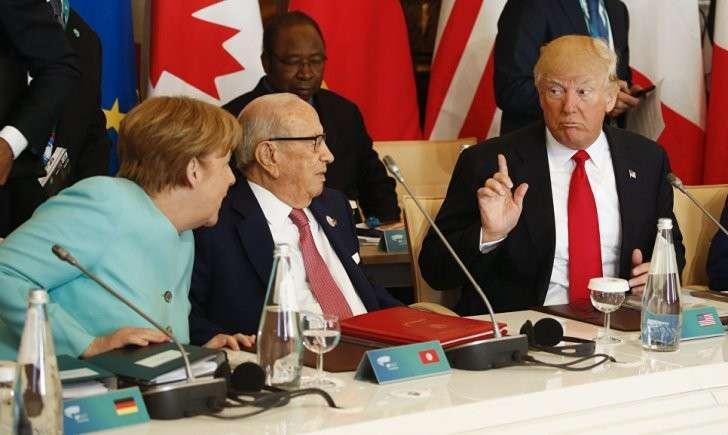 Европа в растерянности, Дональд Трамп оказался «чужим»
