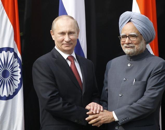 Опубликована статья Владимира Путина «Россия иИндия: 70 лет вместе»