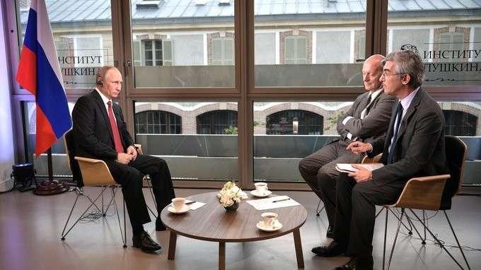 Интервью французской газете Le Figaro