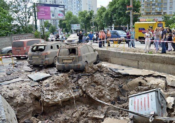 Украина разваливается на глазах в прямом смысле этого слова