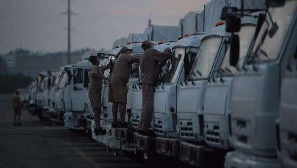Каратели заявляют о готовности атаковать гуманитарный конвой