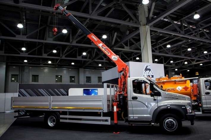 «Группа ГАЗ» представляет новые модели спецтехники для строительной отрасли иремонтных служб