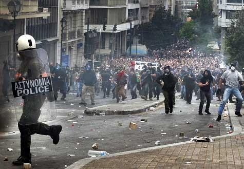 Как ростовщики убивают Грецию «оздоровительными реформами»