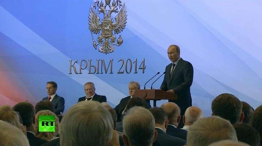 Владимир Путин: Крым может стать линией примирения