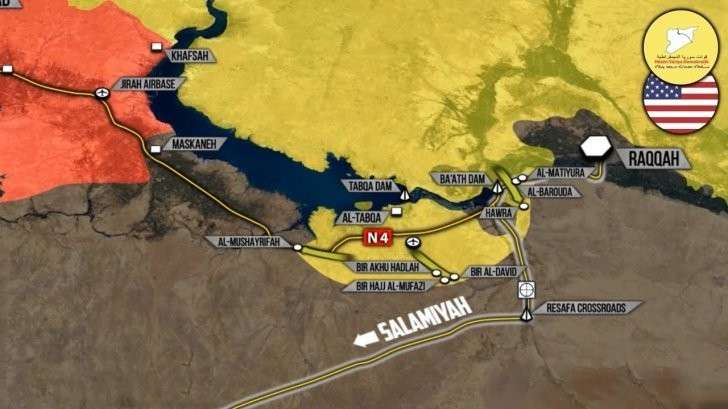 Сирия: Курды отрезают правительственную армию от Ракки