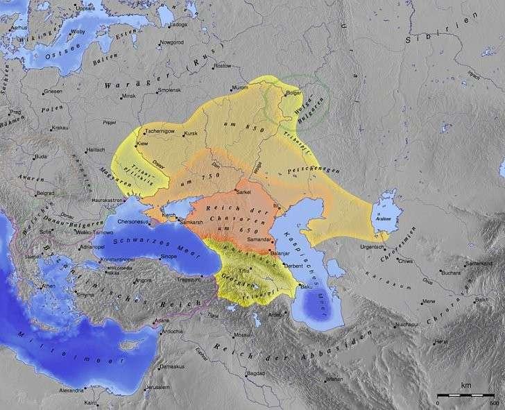 Украина: хазарская повстанческая армия и переписывание истории