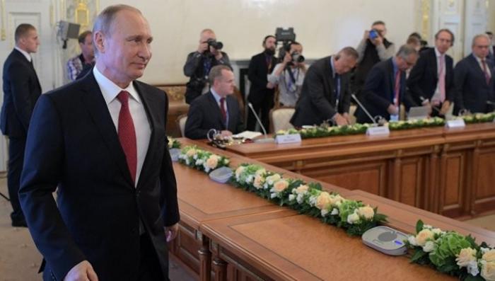 Владимир Путин на ПМЭФ ответил на вопросы руководителей международных информагентств
