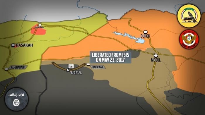 Сирия и Ирак: бои за границу с Сирией