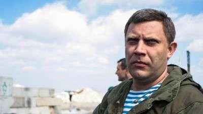 ДНР: Александр Захарченко перевел силовые структуры республики в повышенную боевую готовность