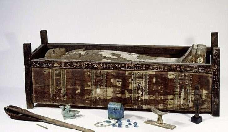 Одна из мумий, геном которой проанализировали немцы.