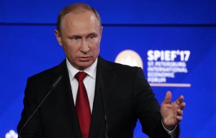 Выступление Владимира Путина на ПМЭФ-2017: американцам надо принять «таблетку от истерии»