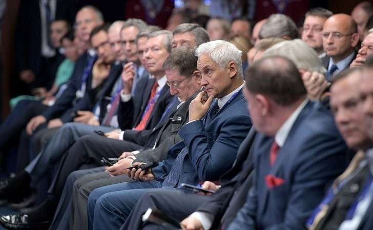 Панельная дискуссия «Бизнес-диалог Россия– США» врамках Петербургского международного экономического форума.