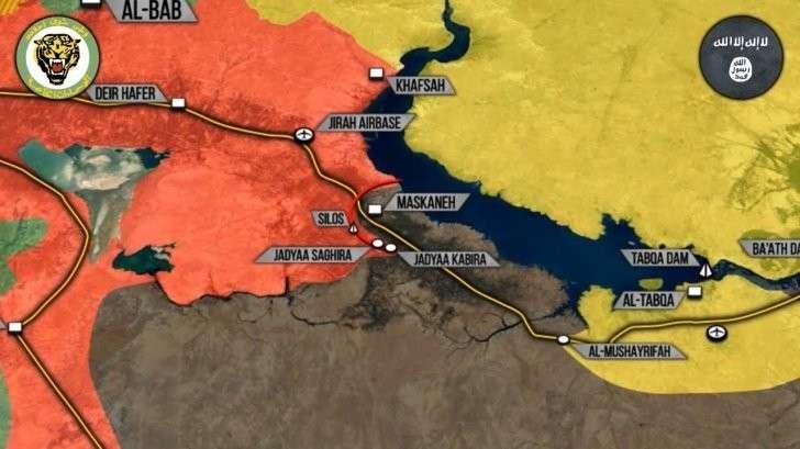Сирия: проамериканские курды лживо обвиняют Россию в сотрудничестве с ИГИЛ