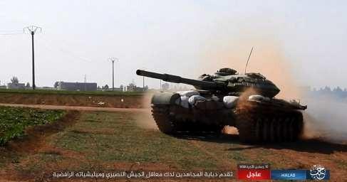 «Тигры» и ВКС России расчленили группировку боевиков. ИГИЛ в котле