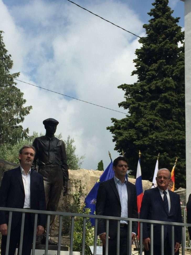 Во Франции открыли памятник российскому писателю и поэту Ивану Бунину