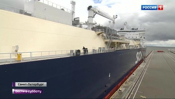 Русский арктический танкер-газовоз назвали в честь убитого в результате диверсии главы Total