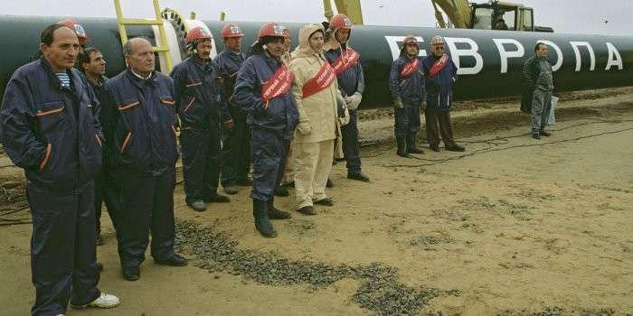 Газовую трубу Украины отдают ЕС и США