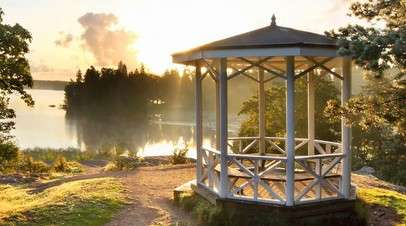 Парк Монрепо в Ленинградской области