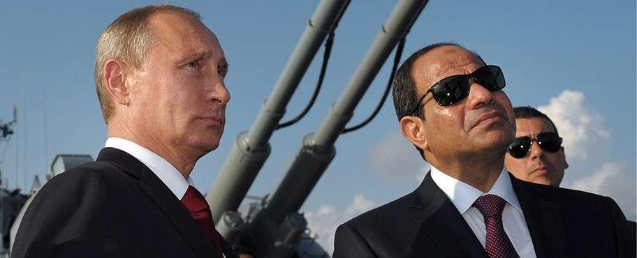 Президент РФ В.Путин встретился с президентом Египта А.Сиси в Сочи