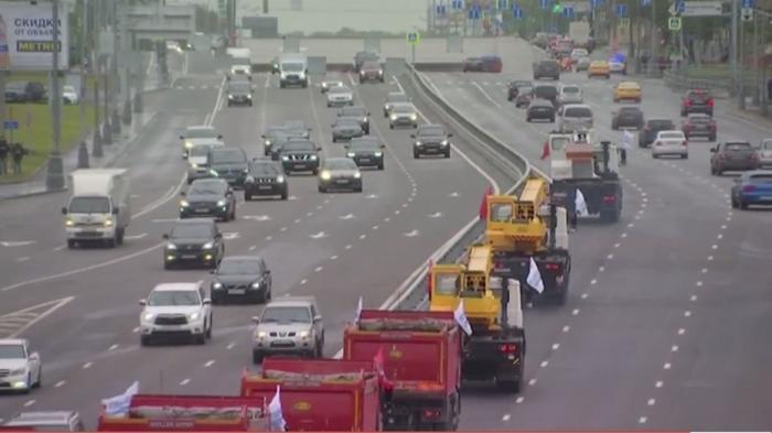 ВМоскве завершилась одна изсамых крупных дорожных строек – Аминьевское шоссе
