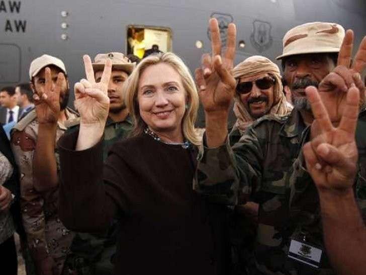 Викиликс: Хилари Клинтон знала о поддержке террористов со стороны Катара и Саудовской Аравии