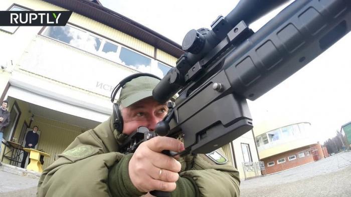 В Московской области прошли испытания новейшей снайперской винтовки Т-5000 «Точность»