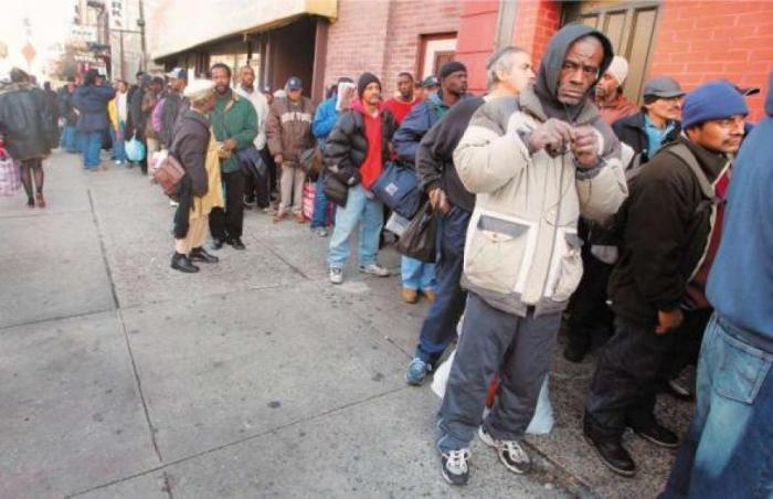 В США 102 миллиона трудоспособных американцев не имеют работы