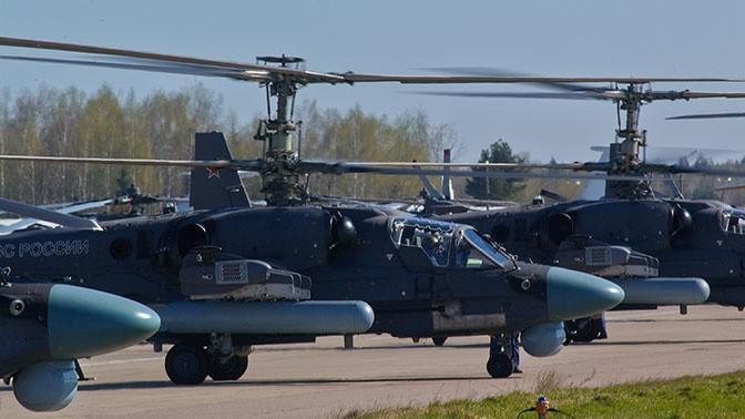 В Приморском крае открыли вторую линию посборке вертолётов Ка-52 «Аллигатор»