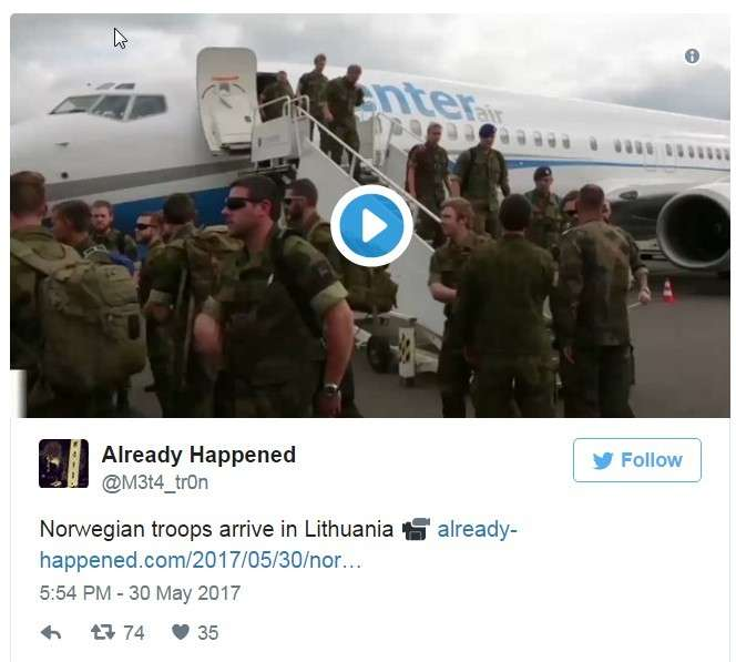 В Литве США тайно разворачивают систему ПРО THAAD?