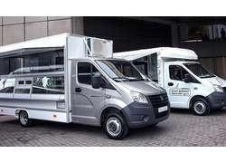 «Группа ГАЗ» представила новые модели автомобилей для мобильной торговли на базе «ГАЗели NEXT»