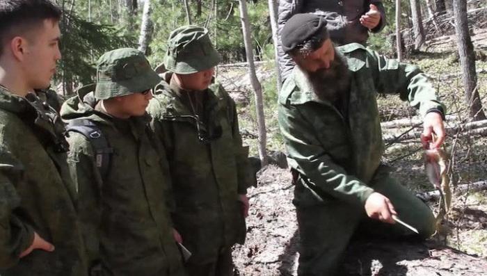Сибирские староверы провели обучение китайских офицеров