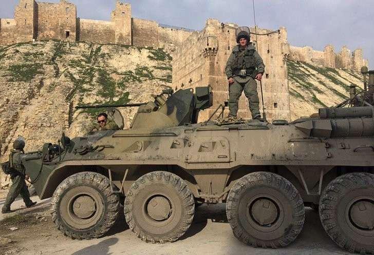 Сирия: русский сапер взорвал сеть рэпом из Алеппо