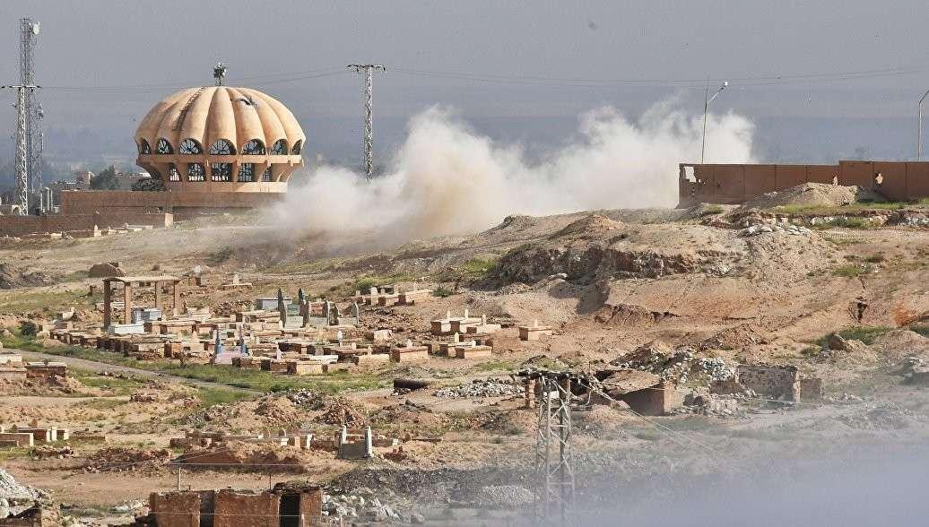 Коалиция террористов во главе с США нанесла новый удар по проправительственным силам в Сирии