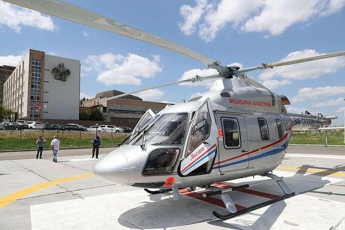 Волгоградская область первой вРоссии получила вертолет санавиации «Ансат»