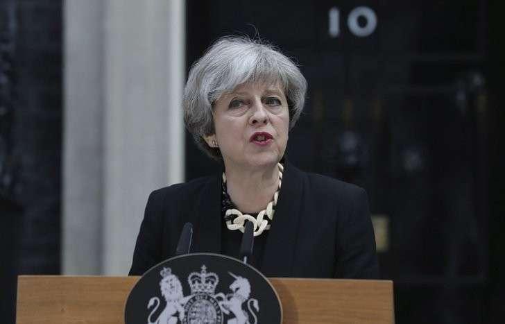 Лидер британской Консервативной партии Тереза Мэй