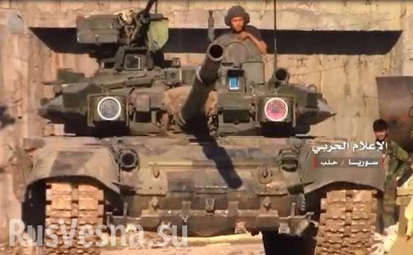 Армия Сирии выбивает наёмников США с ключевой горы | Русская весна