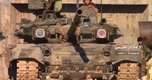 Армия Сирии выбивает наёмников США с ключевой горы