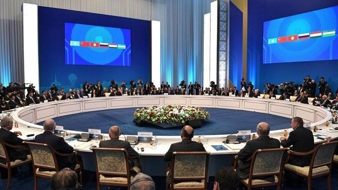 Выступление Владимира Путина насаммите ШОС врасширенном составе