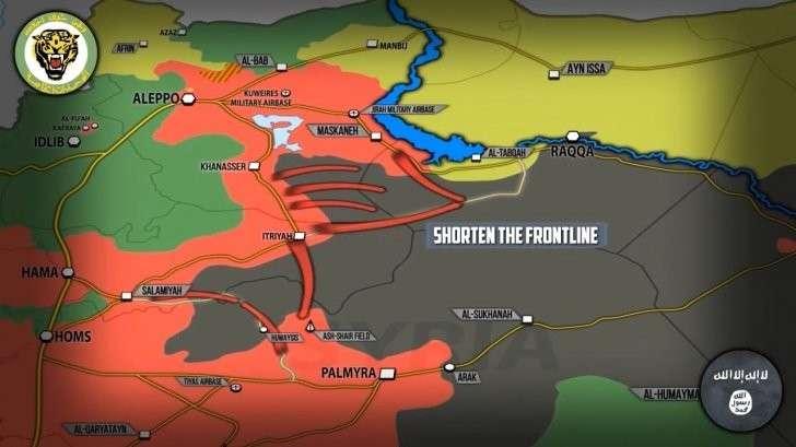 Сирия: «союзники» встретились у Табка (Эльбы), Ракка (Берлин) скоро падёт
