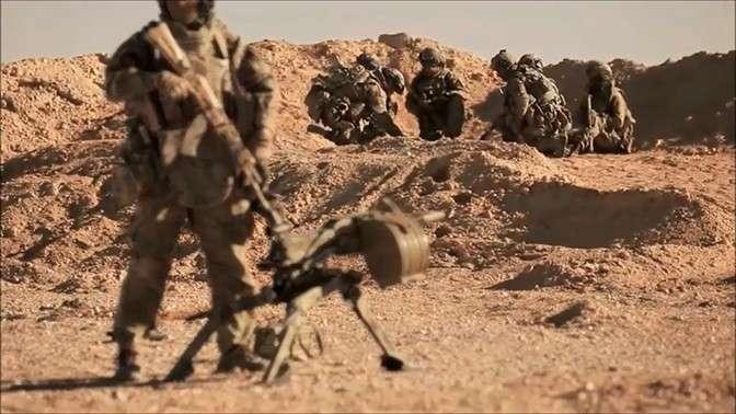 Спецназ ССО ВС России опубликовал первый боевой клип