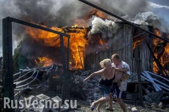 Двамиллиона жителей Донбасса остались безводы | Русская весна