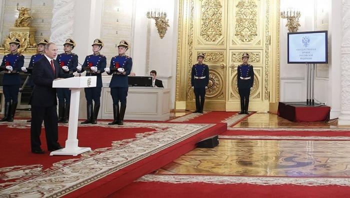 Владимир Путин в День России вручает в Кремле государственные премии