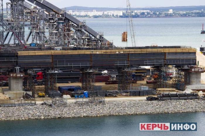 Керченский мост. Июнь 2017 год. Стройка Века. Видео 360