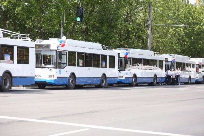 ВСаранске запустили налинию 30 новых троллейбусов